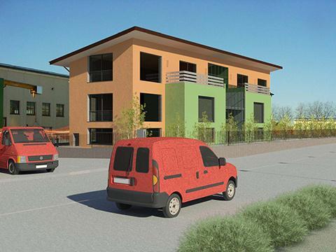 Demolizione di un edificio non più funzionale e la ricostruzione di un immobile artigianale/commerciale - Sona (Vr)
