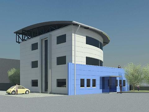 Edificio produttivo - Studio Vallan